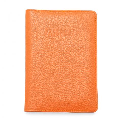 feder porta passaporte boa viagem laranja